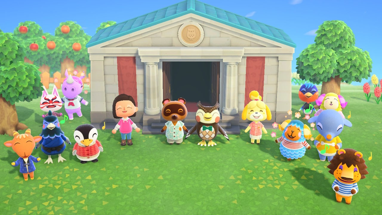 animal crossing new horizons gameplay image